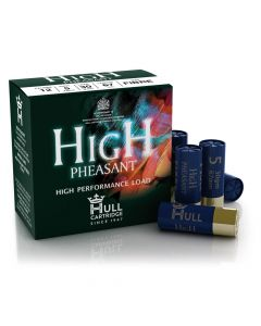 Hull Cartridge Company High Pheasant 12 Gauge 30 Gram Fibre Shotgun Cartridge - Cheshire, UK