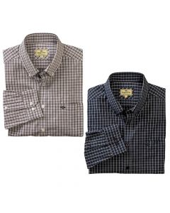 Hoggs of Fife Mens Comrie Checked Shirt
