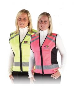 Hy Equestrian HyVIZ Waistcoat - Please Pass Wide & Slow - Chelford Farm Supplies