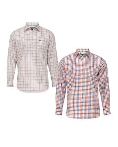 Alan Paine Mens Ilkley Check Shirt