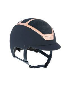 KASK Dogma Chrome Light Riding Helmet Navy/Everyrose