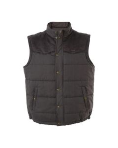 RM Williams Mens Carnarvon Vest-Chocolate