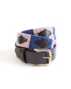 KM Elite Polo Belt Blush