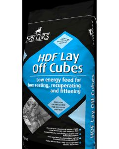Spillers HDF Lay Off Cubes Horse Feed 25kg