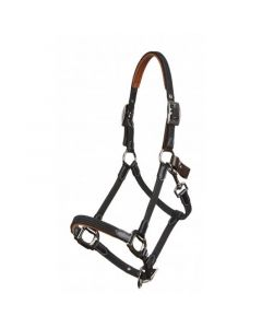 LeMieux Breakaway Headcollar Black/Brown