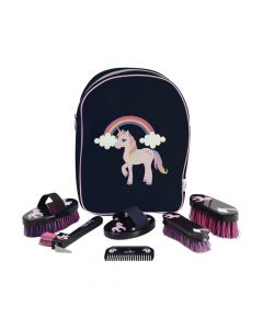 Little Rider Little Unicorn Complete Grooming Kit Rucksack - Chelford Farm Supplies
