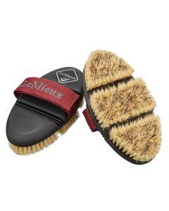 LeMieux Flexi Scrubbing Grooming Brush