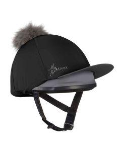 LeMieux Pom Pom Hat Silk Black