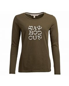 Barbour Eleanor Ladies Long Sleeve T-Shirt - Cheshire, UK