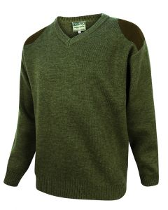 Hoggs of Fife Mens Melrose V Neck Jumper