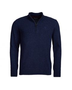 Barbour Mens Tisbury Half Zip Sweater