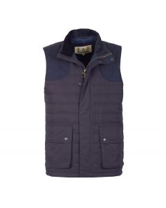 Barbour Mens Bradford Gilet Navy