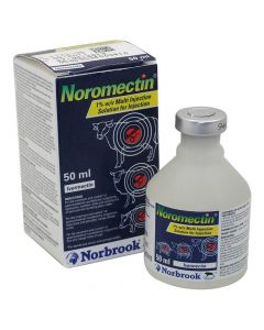 Noromectin 1% Injection Wormer for Cattle, Sheep and Pigs - Cheshire, UK