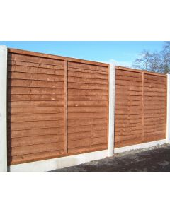 Overlap Fence Panel