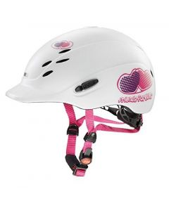 Uvex Onyxx Friends Forever Riding Helmet White