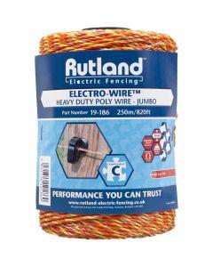 Rutland 6mm Jumbo Electro-Wire Orange
