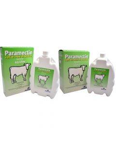 Paramectin Pour-On Wormer for Cattle - Cheshire, UK