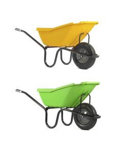 Haemmerlin Pick-Up 110 litre Wheelbarrow with Pneumatic Wheel - Cheshire, UK