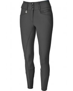 Pikeur Ladies Candela Grip Winter Softshell Breeches Dark Shadow