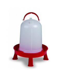 Plastic Poultry Drinker With Legs 5L
