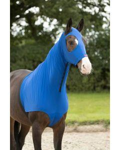 LeMieux Lycra Hood Benetton Blue