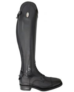 Secchiari 200EL Riding Boots Lux Top Black - Chelford Farm Supplies