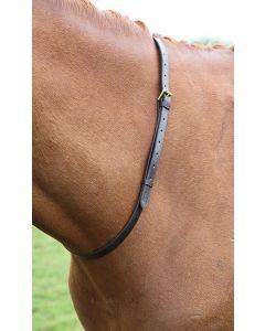 Shires Blenheim Leather Neck Strap Havana - Chelford Farm Supplies