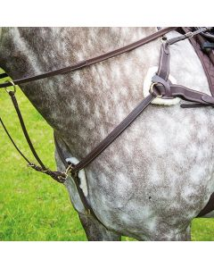 Shires Salisbury Five Point Breastplate - Chelford Farm Supplies