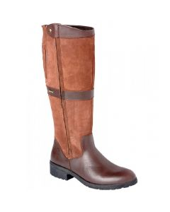 Dubarry Ladies Sligo Knee-High Country Boot Walnut