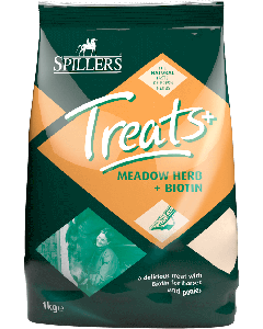 Spillers Meadow™ Herb + Biotin Horse Treats 1kg - Chelford Farm Supplies