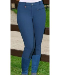 Jeffries Ladies Competition Breeches Navy