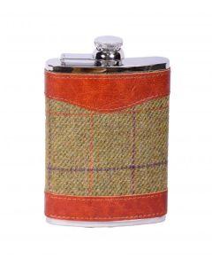 Bonart Tweed Hip Flask
