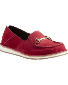 Ariat Ladies Bit Cruiser Shoe Red