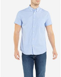 Wrangler Mens Short Sleeve Button Down Shirt