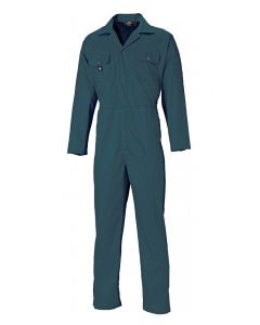 Dickies WD4819R Redhawk Boilersuit Economy Stud Front Green