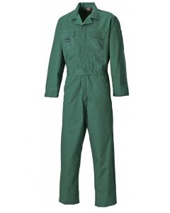Dickies WD4829 Redhawk Boilersuit Stud Front Green
