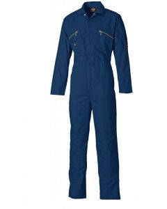 Dickies WD4839 Redhawk Boilersuit with Zip Front Navy