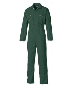 Dickies WD4839 Redhawk Boilersuit with Zip Front Lincoln Green