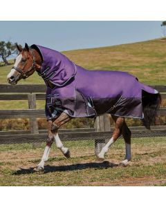 WeatherBeeta ComFiTec Plus Dynamic Heavy Turnout Rug 360g Purple