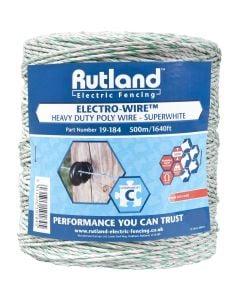 Rutland 6mm Super White Electro-Wire