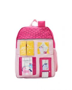 Joules Junior Zippyback Novelty Backpack Unicorn House
