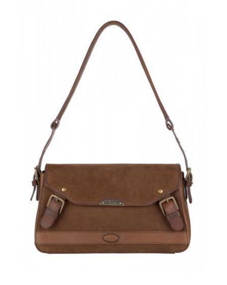 Dubarry Ladies Lismore Shoulder Bag Walnut