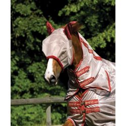 Horseware Amigo Fly Mask Bronze / Red