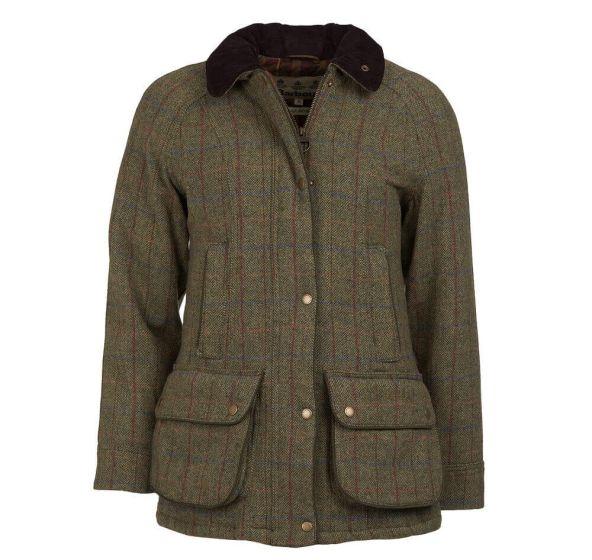 Barbour Ladies Carter Wool Jacket - Cheshire, UK