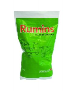 Rumenco Rumins Stay Dry Cattle High Mag Mineral 25kg