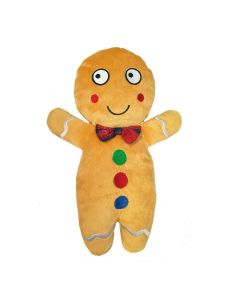 Ancol Gingerbread Man Christmas Dog Toy - Cheshire, UK