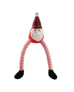Ancol Leggy Santa Christmas Dog Toy - Cheshire, UK