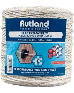 Rutland Electric Fencing Maxi Electro-Wire - Cheshire, UK