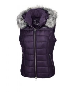 Pikeur Ladies Amica Quilted Waistcoat Grape