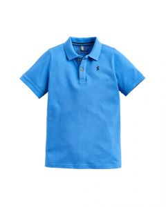 Joules Junior Woody Polo Shirt Blue